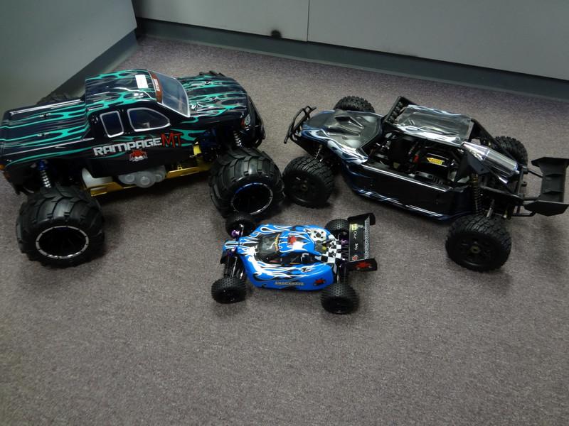1/5 Scale 30cc 2 Stroke Gasoline R/C Vehicles!!!