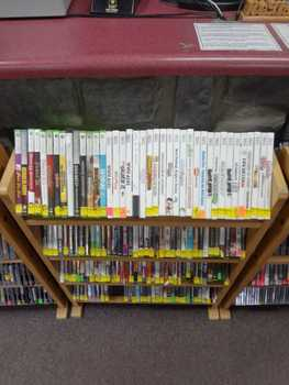 Xbox 360/ Playstation 3/ Nintendo Wii Discount Rack