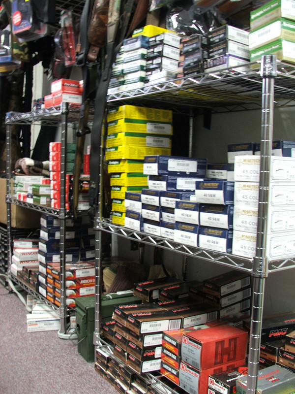We do our best to keep all the most popular ammunitions in stock.