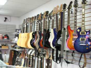 We have Fairmont's largest selection of Electric and Acoustic Guitars from the best name manufacturers.